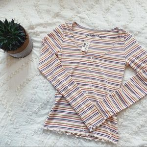 NWT AMERICAN EAGLE SERIOUSLY SOFT LONG SLEEVE